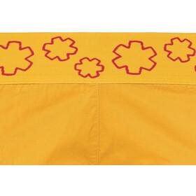 Ocun Pantera korte broek Dames geel